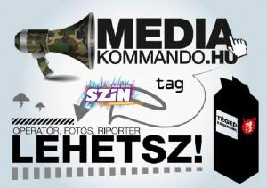 Médiakommando a SZIN-en