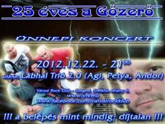gozero jubileumi koncert
