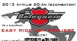 Delegacio aprilisban a rock klubban