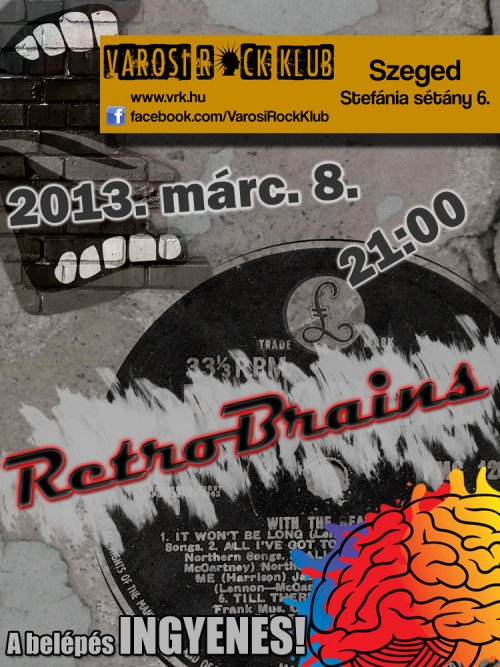 retro brains koncert